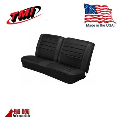 Chevelle/El Camino - Seat Upholstery - TMI Products - 1965 Chevelle Convertible Front and Rear Bench Seat Upholstery