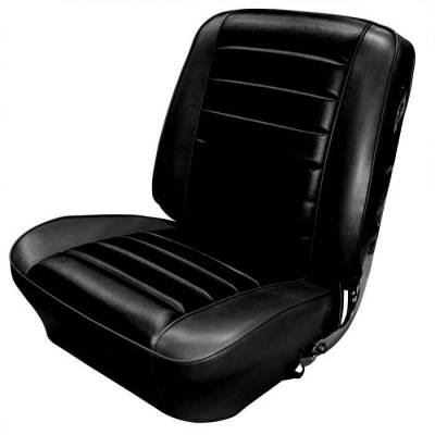 Chevelle/El Camino - Seat Upholstery - TMI Products - 1965 Chevelle Convertible Front Buckets and Rear Bench Seat Upholstery