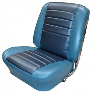 TMI Products - 1965 Chevelle Coupe Front Buckets and Rear Bench Seat Upholstery - Image 2