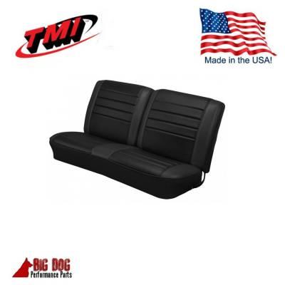 Chevelle/El Camino - Seat Upholstery - TMI Products - 1965 Chevelle Front and Rear Bench Seat Upholstery