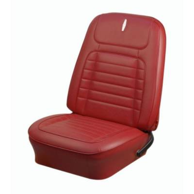 TMI Products - 1968 Camaro Deluxe Front Bucket and Rear Bench Seat Upholstery - Non-Folding Rear - Image 2