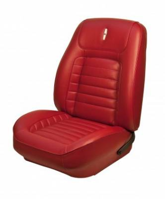Camaro - Seat Upholstery - TMI Products - 1968 Camaro Sport Deluxe Front Bucket Seat and Folding Rear Seat Upholstery