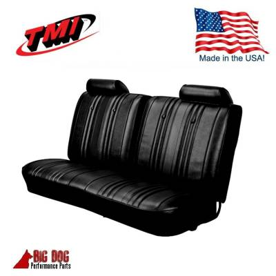 TMI Products - 1969 Chevelle Convertible Front and Rear Bench Seat Upholstery - Image 2