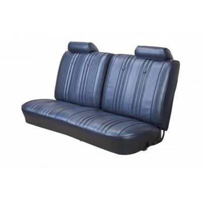 Chevelle/El Camino - Seat Upholstery - TMI Products - 1969 Chevelle Front and Rear Bench Seat Upholstery