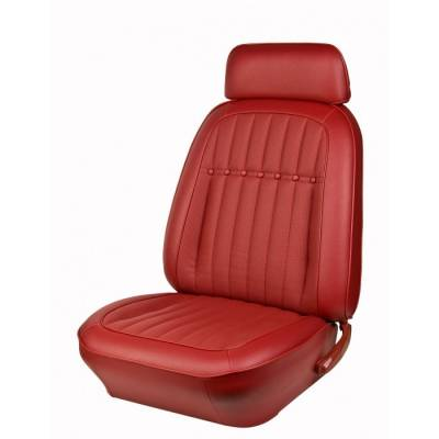 TMI Products - 1969 Camaro Deluxe Comfortweave Front Bucket and Rear Bench Seat Upholstery - Non-Folding Rear - Image 3