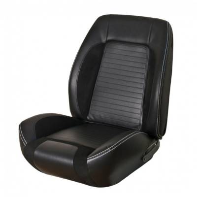 TMI Products - 1967 - 1968 Camaro Sport R Seat Front Bucket and Non-Folding Rear Bench Seat Upholstery