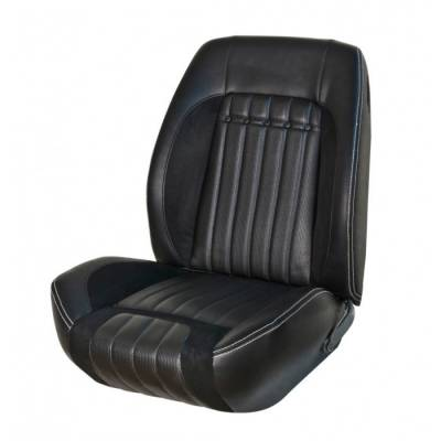 Camaro - Seat Upholstery - TMI Products - 1969 Camaro Coupe or Convertible Sport R Deluxe Comfortweave Front Bucket Seat Upholstery