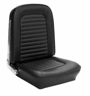 Mustang - Seat Upholstery - TMI Products - Standard Upholstery for 1967 Mustang Coupe, Convertible, Fastback w/Bucket Seats (Front)