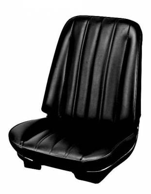 Chevelle/El Camino - Seat Upholstery - TMI Products - 1966 Chevelle Coupe, Convertible Front Bucket Seat Upholstery