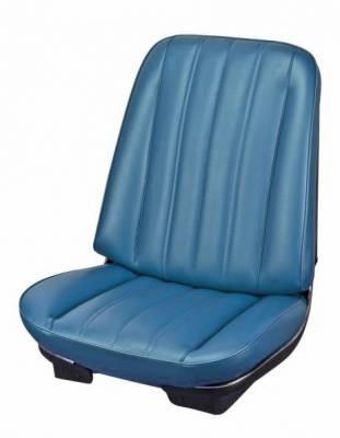 TMI Products - 1966 Chevelle Front Bucket and Rear Bench Seat Upholstery - Image 3