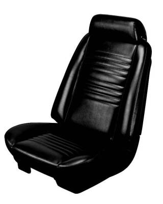 TMI Products - 1967 Chevelle Convertible Front Bucket and Rear Bench Seat Upholstery - Image 4