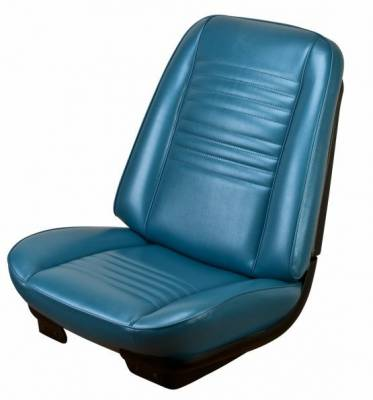 TMI Products - 1967 Chevelle Coupe, Convertible Front Bucket Seat Upholstery - Image 3