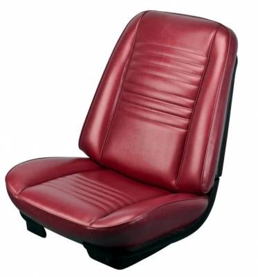 TMI Products - 1967 Chevelle Front Bucket and Rear Bench Seat Upholstery - Image 2