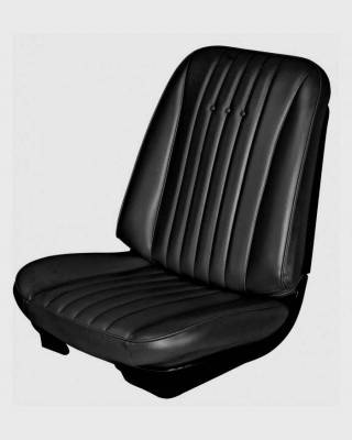 Chevelle/El Camino - Seat Upholstery - TMI Products - 1968 Chevelle Coupe, Convertible Front Bucket Seat Upholstery
