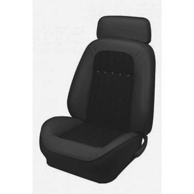 Camaro - Seat Upholstery - TMI Products - 1969 Camaro Coupe or Convertible Sport Deluxe Comfortweave Front Bucket Seat Upholstery