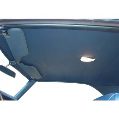 1967 - 1969  - Headliner, Visors & Sail Panels - TMI Products - 1968 - 1969 Camaro Coupe Headliner and Sailpanel Set - Bedford Grain