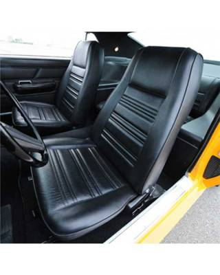 TMI Products - Standard Upholstery for 1970 Mustang Coupe w/Bucket Seats Front and Rear