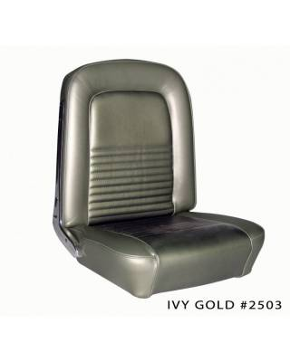 TMI Products - Standard Upholstery for 1968 Mustang Coupe, Convertible, 2+2 w/Bucket Seats (Front Only) - Image 3