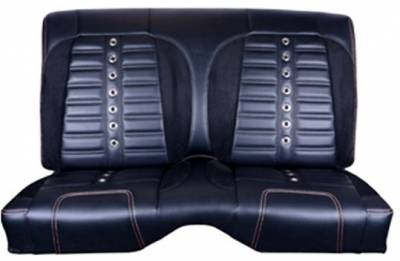 TMI Products - 1967 - 1968 Camaro Sport XR Premium Front Bucket and Rear Seat Upholstery, Non-Folding Rear - Image 2