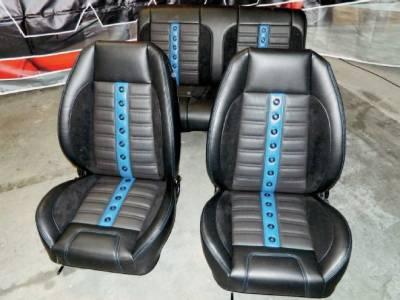 TMI Products - 1971 - 1981 Camaro Sport X Custom Front Bucket Seat Upholstery - Image 7