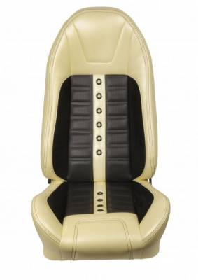 TMI Products - 1971 - 1981 Camaro Sport XR Custom Front Bucket and Rear Seat Upholstery - Image 2