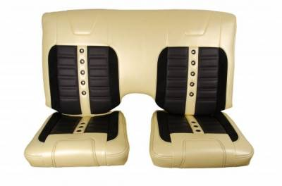 TMI Products - 1971 - 1981 Camaro Sport XR Custom Front Bucket and Rear Seat Upholstery - Image 3