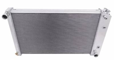 Champion Cooling Systems - Champion Cooling Four Row All Aluminum Radiator 75-87 GM Cadillac Chevy Buick Pontiac Olds MC162