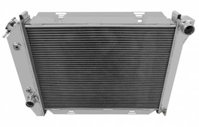 Champion Cooling Systems - 1967-1968 Ford T Bird, Galaxie, More Champion 2 Row Core All Aluminum Radiator EC385 - Image 2