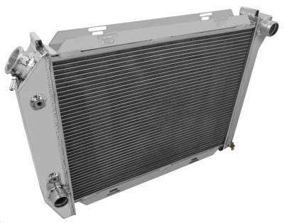 Radiators - Aluminum Radiators - Champion Cooling Systems - 1967-1968 Ford T Bird, Galaxie, More Champion 2 Row Core All Aluminum Radiator EC385