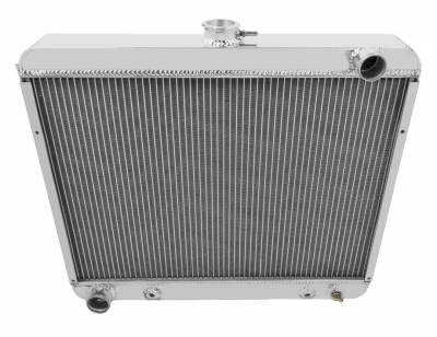 Champion Cooling Systems - Four Row All Aluminum Radiator 22 Inch Core Mopar Big Block Configuration cc2375
