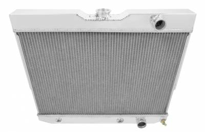 Champion Cooling Systems - Champion Four Row Aluminum Radiator 1960-1965 GM Chevy Chevelle El Camino Impala Bel Air Biscayne MC281