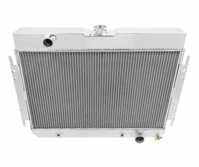 Champion Cooling Systems - Champion Four Row Aluminum Radiator 1963-1968 GM Impala Bel Air Chevelle MC289