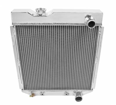 Champion Cooling Systems - Champion Four Row Aluminum Radiator fits 60-66 Ford Ranchero, Falcon, Mustang, Econoline, Comet & Model T MC259