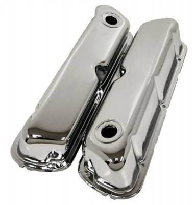 RPC - 1962-85 Ford Small Block 260-289-302-351W Chrome Valve Covers