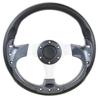"""Steering Wheels - Performance Series Wheels - Forever Sharp Steering Wheels - 12.5"""" Pursuit Carbon Fiber Performance Steering Wheel"""