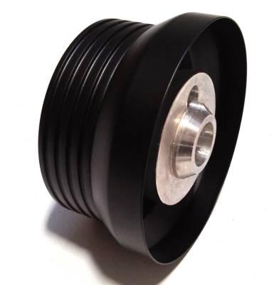 """Forever Sharp Steering Wheels - Black Split Spoke 14"""" Custom Steering wheel - Image 3"""