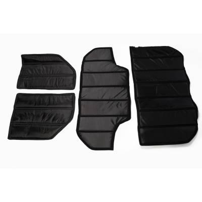 Exterior - Tops And Accessories - Rugged Ridge - Hardtop Insulation Kit, 4-Door; 07-10 Jeep Wrangler JK