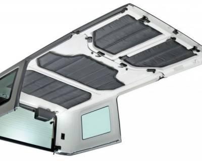 Exterior - Tops And Accessories - Rugged Ridge - Hardtop Insulation Kit, 4-Door; 11-16 Jeep Wrangler JK