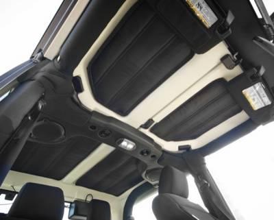 Rugged Ridge - Hardtop Insulation Kit, 4-Door; 11-16 Jeep Wrangler JK - Image 2