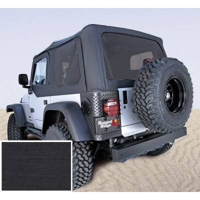 Exterior - Tops And Accessories - Rugged Ridge - XHD Soft Top, Black, Tinted Windows; 97-06 Jeep Wrangler TJ
