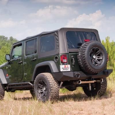Exterior - Tops And Accessories - Rugged Ridge - XHD Soft Top, Black Diamond; 07-09 Jeep Wrangler JKU