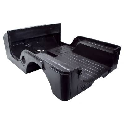 Exterior - Omix-ADA - Body Tub with Jeep Script; 55-69 Jeep CJ5