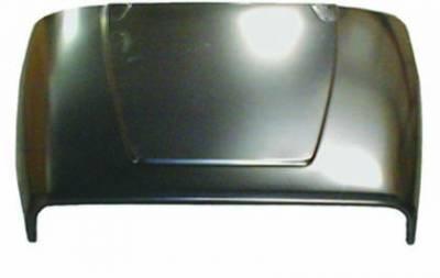 Exterior - Omix-ADA - Hood; 87-95 Jeep Wrangler YJ