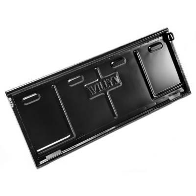 Omix-ADA - Steel Tailgate; 46-68 Willys CJ2A/CJ3A/CJ3B/CJ5