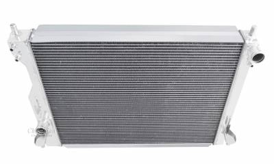 Radiators - Aluminum Radiators - Champion Cooling Systems - Champion 3 Row Aluminum Radiator for 2005-2014 Mustang V8 CC2789
