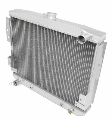 Radiators - Aluminum Radiators - Champion Cooling Systems - Champion 3 Row Aluminum Radiator for 1977-1978 Mustang II V8 CC514