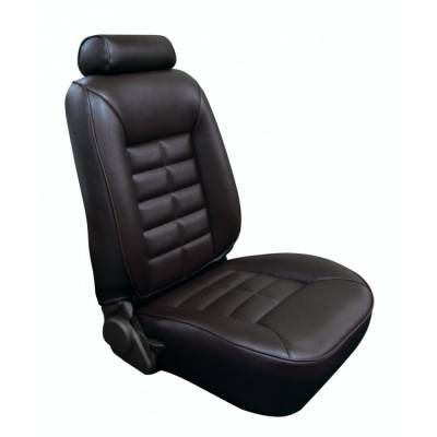 TMI Products - Seat Upholstery for 1981 - 1992 Mustang LX Coupe/Hatchback/Convertible Front/Rear