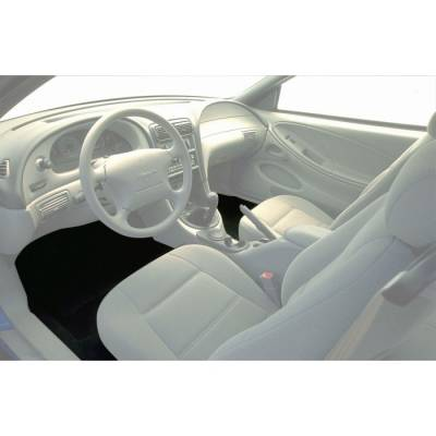 Carpet Kits - Mustang Carpet Kits - TMI Products -  1994 - 04 Mustang Molded Carpet Kit