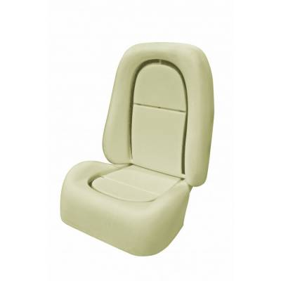 Mustang - Seat Foam - TMI Products - 2001 Mustang Cobra Front Bucket Seat Foam