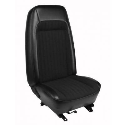 TMI Products - High Back Seat Upholstery for 1979 - 1980 Mustang Coupe or Hatchback Front Only